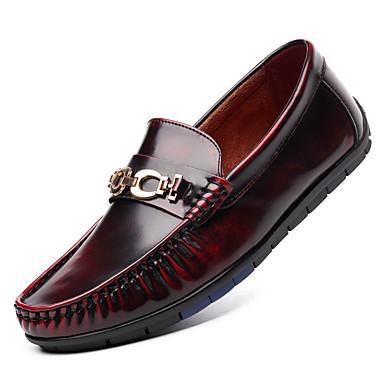 Férfi cipő Mikroszálas Tavasz Ősz Újdonság Papucsok & Balerinacipők Kombinált mert Hétköznapi Hivatal és karrier Szabadtéri Party és