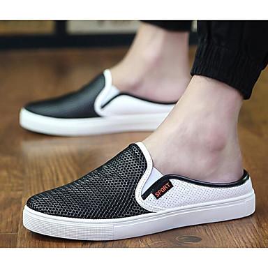Herren Schuhe Tüll Sommer Komfort Loafers & Slip-Ons Für Normal Schwarz Grau Blau