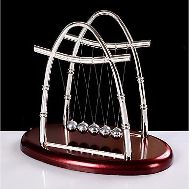 1pc Kunststoff / Schmiedeeisen MetallischforHaus Dekoration, Leder und Metall Crafting Geschenke