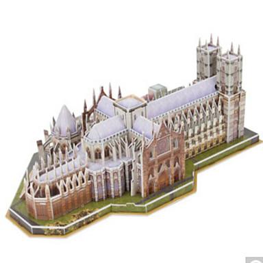 3D - Puzzle Holzpuzzle Berühmte Gebäude Naturholz Unisex Geschenk