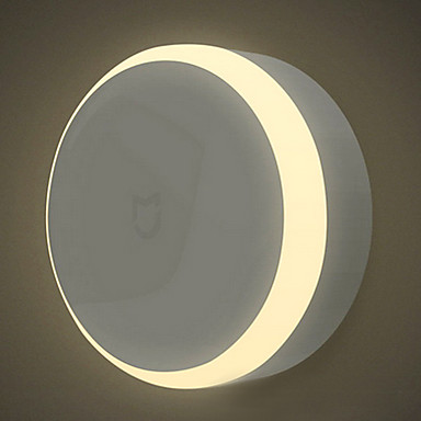 Xiaomi 1 pc LED Night Light Battery Infrared Sensor / Dimmable / Human Body Sensor LED