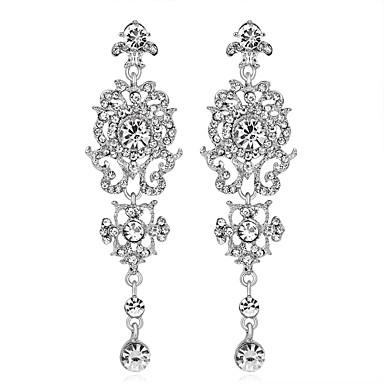 Női Luxus Függők - Személyre szabott / Luxus / Geometrijski oblici Ezüst Geometric Shape Fülbevaló Kompatibilitás Esküvő / Születésnap /