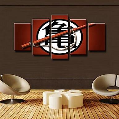 Fünf Panele Druck Wand Dekoration For Haus Dekoration