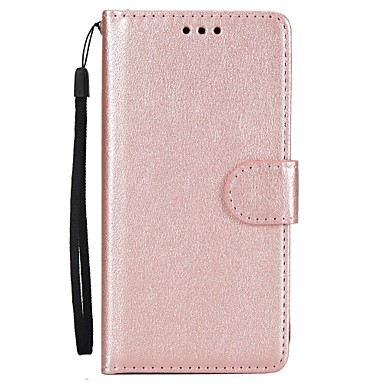 Case For Huawei P9 / Huawei P9 Lite / Huawei Wallet / Card Holder / with Stand Full Body Cases Solid Colored Hard PU Leather for P10 Plus / P10 Lite / P10 / Huawei P9 Plus
