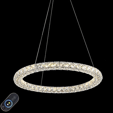Chic & Modern Chandelier Ambient Light - Crystal / Adjustable / Dimmable, 110-120V / 220-240V, Dimmable With Remote Control, LED Light