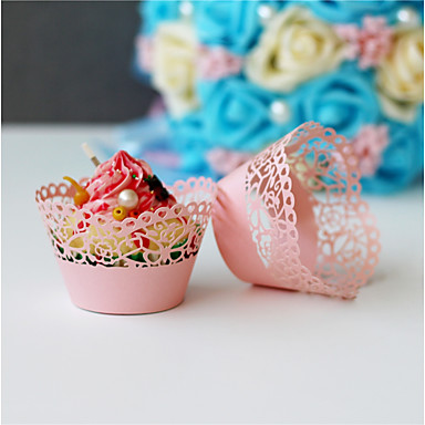Cupcake Wrappers Material 50 Wedding