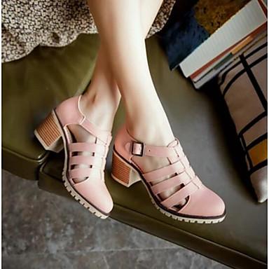 Damen Schuhe Denim Jeans Sommer Komfort Sandalen Für Normal Schwarz Blau Rosa