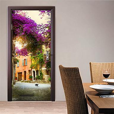 Paisaje pegatinas de pared calcoman as 3d para pared for Calcomanias para paredes decorativas
