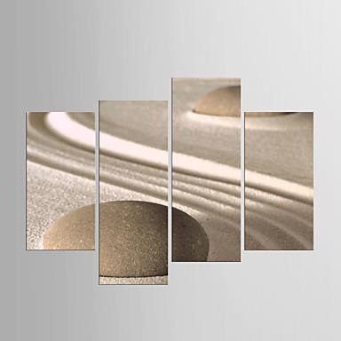 مطبوعات قماش رغم الضغوط ملخص,أربع لوحات قماش القنب أي شكل الطباعة جدار ديكور For تصميم ديكور المنزل