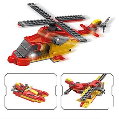 Építőkockák Repülőgép / Harcos / Helikopter Helikopter Fiú Ajándék