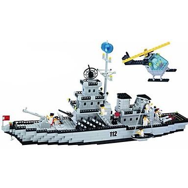 ENLIGHTEN Bausteine Kriegsschiff Unisex Spielzeuge Geschenk