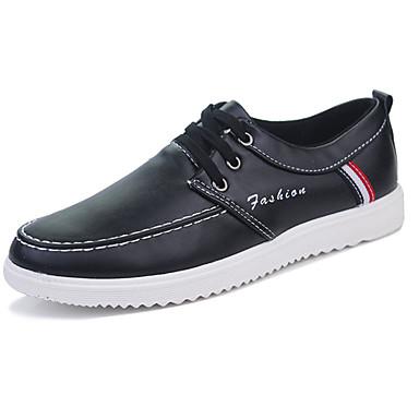 Férfi cipő Nappa Leather Tavasz / Ősz Kényelmes Tornacipők Fehér / Fekete / Barna
