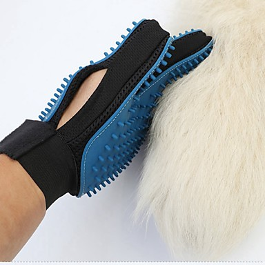 Cat Dog Grooming Health Care Cleaning Grooming Kits Brush Baths Waterproof Portable Foldable Blue