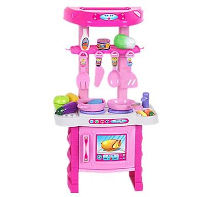 Játékautók Bevásárlás Játék konyha készletek Étel Szerepjátékok tettetés Műanyagok Lány Gyermek Ajándék