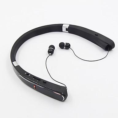 هبس-992 في الأذن الرقبة الفرقة سماعات لاسلكية الهجين البلاستيك الرياضة&اللياقة البدنية إيرفونفولدابل الضوضاء-- عزل مع ميكروفون مع حجم