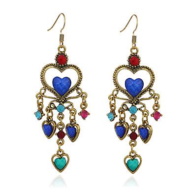 Női - Szabályos / Személyre szabott / Vintage Piros / Kék / Világoskék Fülbevaló Kompatibilitás Ajándék / Napi / Estély