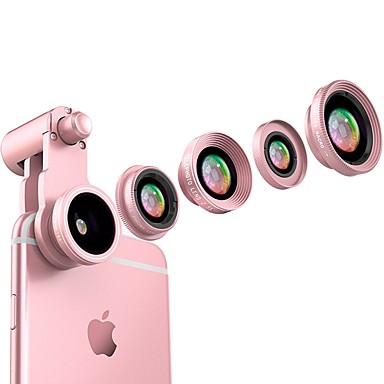 فلاش المنك الهاتف الذكي العدسات الكاميرا 0.65x زاوية واسعة 10x ماكرو عين السمكة عدسة كبل 2.5x طويلة عدسة التنسيق لبود فون هواوي زياومي