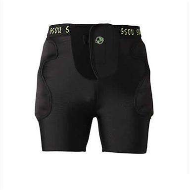 Gsou schnee gsh042 motorrad schutzanzug veneer doppelbrett hoodie knie tragen erwachsene pony hose