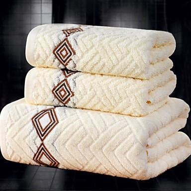Kiváló minőségű Törülköző készlet, Jacquardszövet 100% pamut Fürdőszoba