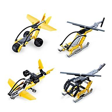 Építőkockák / Fejlesztő játék Repülőgép / Harcos / Helikopter DIY / Klasszikus Fiú Ajándék