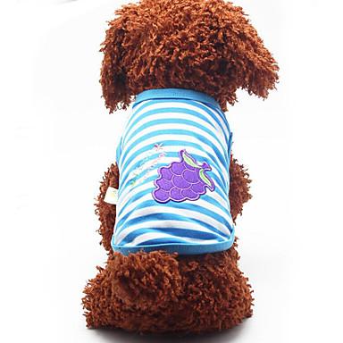 Hund Weste Hundekleidung Atmungsaktiv Lässig/Alltäglich Frucht Orange Rot Grün Blau Rosa Kostüm Für Haustiere