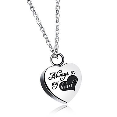 Női Luxus Pillangó Szív Kocka cirkónia Nyaklánc medálok  -  Luxus Szerelem Nyilatkozat Ezüst Nyakláncok Kompatibilitás Parti Születésnap