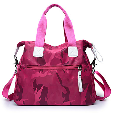 Women's Bags Oxford Cloth Tote for Event / Party / Formal / Outdoor Black / Purple / Fuchsia