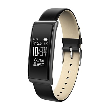 Smart Bracelet Smartwatch C9S for iOS / Android Heart Rate Monitor / Blood Pressure Measurement / Calories Burned / Long Standby / Touch Screen Pedometer / Call Reminder / Sleep Tracker / Sedentary