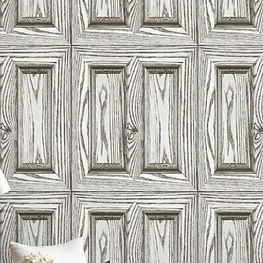 Muster Haus Dekoration Stilvoll Wandverkleidung, PVC/Vinyl Stoff Klebstoff erforderlich Tapete, Zimmerwandbespannung