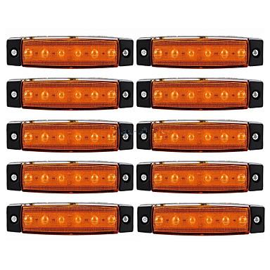 ZIQIAO 10pcs Autó Izzók külső világítás For Univerzalno