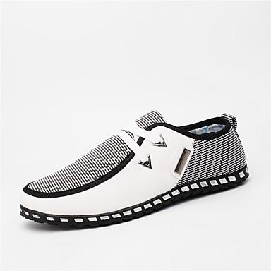 Men's Light Soles PU(Polyurethane) Spring / Fall Comfort / Light Soles Sneakers Walking Shoes Black / Green / Blue