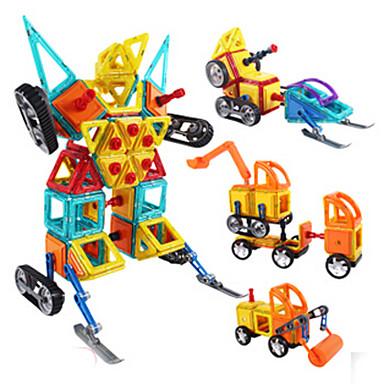 abordables Blocs Magnétiques-Blocs Magnétiques Carreaux magnétiques Blocs de Construction Tour Bâtiment Célèbre Classique Fun & Whimsical Garçon Fille Jouet Cadeau
