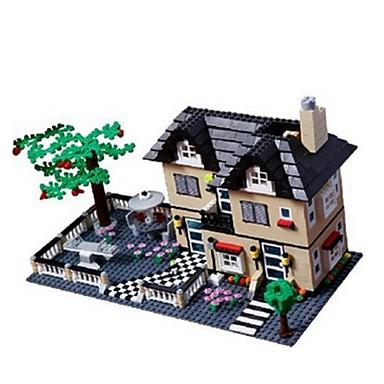 voordelige 3D-puzzels-WANTOY Bouwblokken Modelbouwsets Huis Klassiek Jongens Meisjes Speeltjes Geschenk