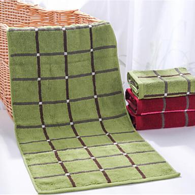 Waschtuch,Karomuster Gute Qualität 100% Baumwolle Handtuch