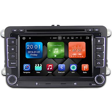 7 Zoll Okta Kern Android 6.0.1 Auto Dvd Spieler Multimedia System WiFi Ex-3G Ex-TV-Tuch für VW Magotan 2007-2011 Golf 5/6 Caddy Polo V 6r