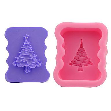 2 قطعتين قوالب الكيك عيد الميلاد المجيد لأواني الطبخ لالخبز لالشوكولاته لكعكة أداة الخبز جودة عالية عيد الميلاد المجيد اصنع بنفسك