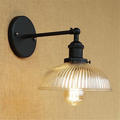 بسيط / قديم / رجعي مصابيح الحائط معدن إضاءة الحائط 110-120V / 220-240V 40W / E26 / E27
