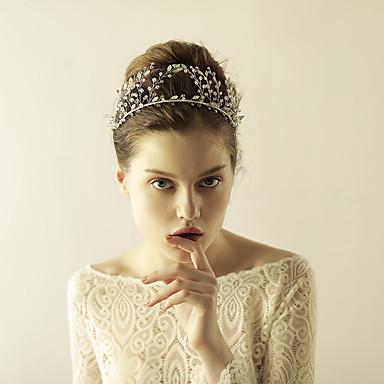 tiras de cristal tiaras headpiece elegante estilo feminino clássico