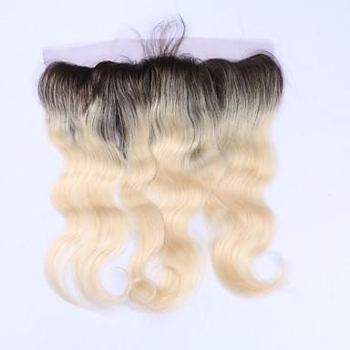Beata Hair Klasszikus Hullámos haj 4x13 lezárása Svájci csipke Emberi haj Ingyenes rész Napi