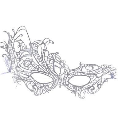 voordelige Maskers voor de feestdagen-Halloweenmaskers Sexy kanten masker Feest Nieuwigheid Kant Horrorthema Volwassenen Jongens Meisjes