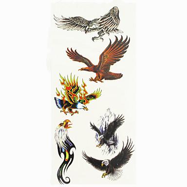 1 pcs Tattoo Stickers Temporary Tattoos Animal Series Waterproof Body Arts Hand / Arm / Wrist