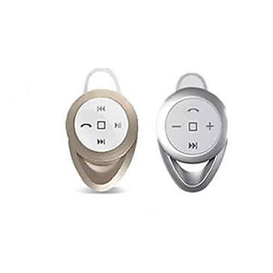 Bluetooth V4.0 In-Ear Stereo  Headphone With MIC  for 6/5/5S Samsung S4/5 HTC LG and Others