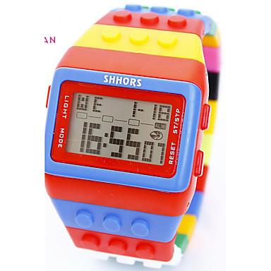baratos Relógios Homem-Homens Mulheres Relógio Esportivo Relógio Militar Relógio inteligente Quartzo Couro PU Acolchoado Cores Múltiplas 30 m Impermeável Cronógrafo Criativo Digital Amuleto Luxo Clássico Vintage Casual -