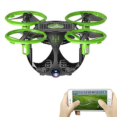 RC Drón FQ777 FQ26 4 Csatorna 6 Tengelyes WIFI HD kamerával 0.3MP RC quadcopter LED fények / Headless Mode / 360 Fokos Forgás RC Quadcopter / USB kábel / 1 Akkumulátor A Drónnak / Kamerával