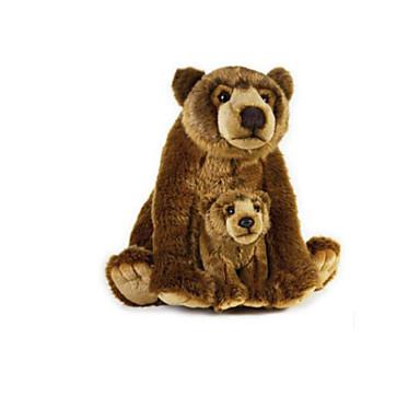 cddcc9fae99 Teddy Bear Bear Animal Stuffed Animal Plush Toy Handcrafted lifelike Cute  Animals Lovely Gift