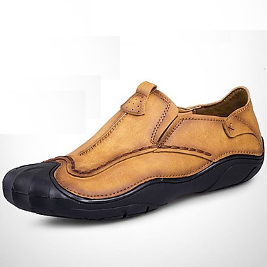 Men's Formal Shoes Synthetic Fall / Winter Comfort Loafers & Slip-Ons Brown / Party & Evening