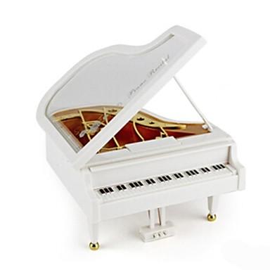 Zenedoboz Zongora Tánc Forgatható Gyermek Felnőttek Gyerekek Ajándék Fa Uniszex
