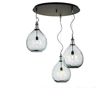 QINGMING® 3-Light Csillárok Süllyesztett lámpa - Mini stílus, A tervezők, 110-120 V / 220-240 V Az izzó nem tartozék / 10-15 ㎡ / E26 / E27