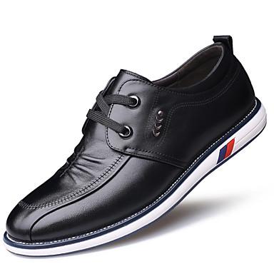 Férfi Formális cipők Bőr Ősz / Tél Kényelmes Félcipők Fekete / Barna