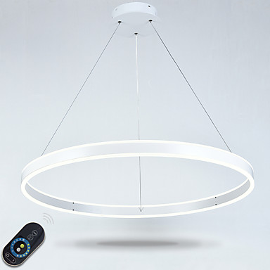 Pendant Light Ambient Light - Multi-shade, Adjustable, Dimmable, 110-120V / 220-240V, Dimmable With Remote Control, LED Light Source